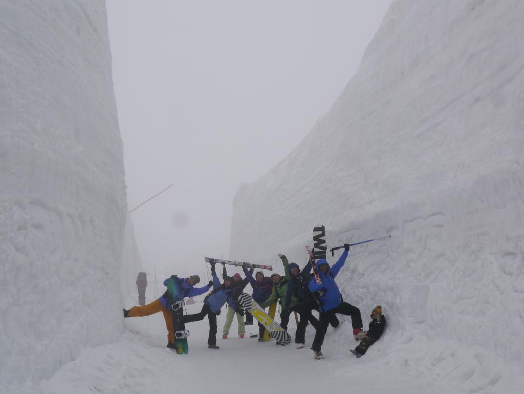 立山 バックカントリーツアー Day1-030