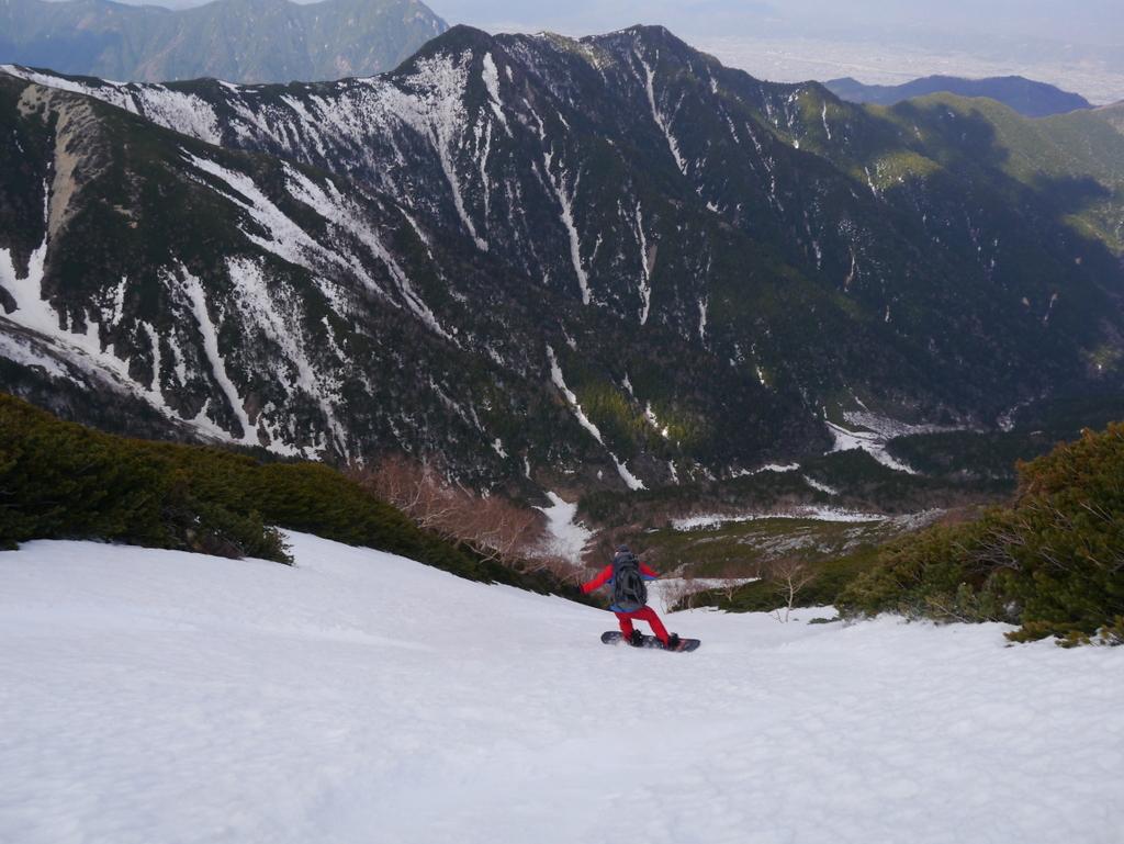 常念岳 バックカントリーツアー MSJ-077