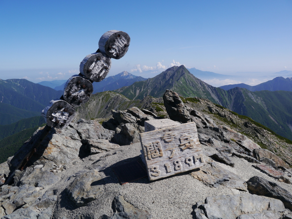 07-白峰三山 2日目 間ノ岳-083