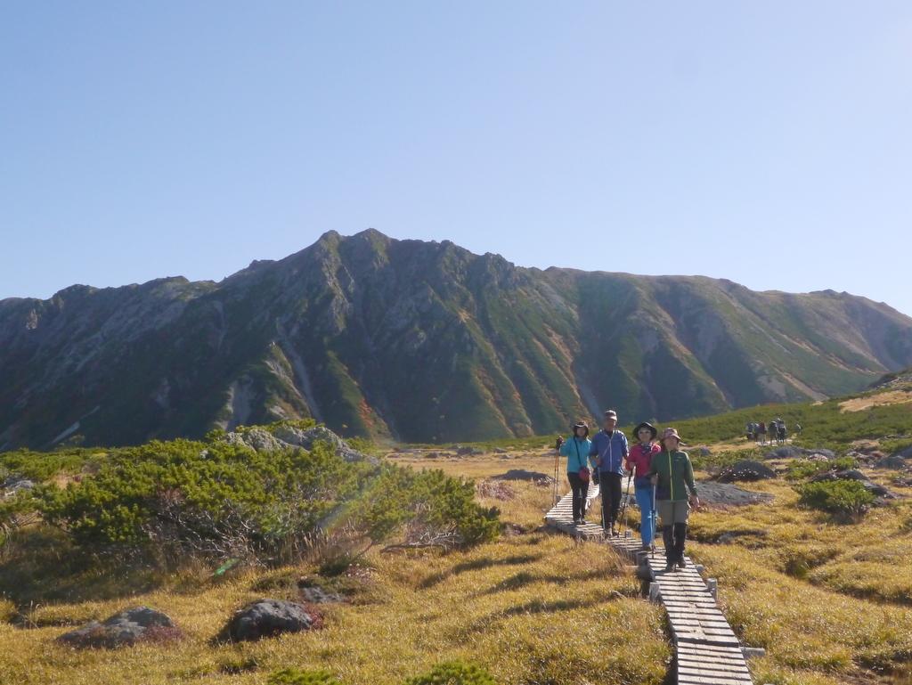 150922雲ノ平からの水晶岳2