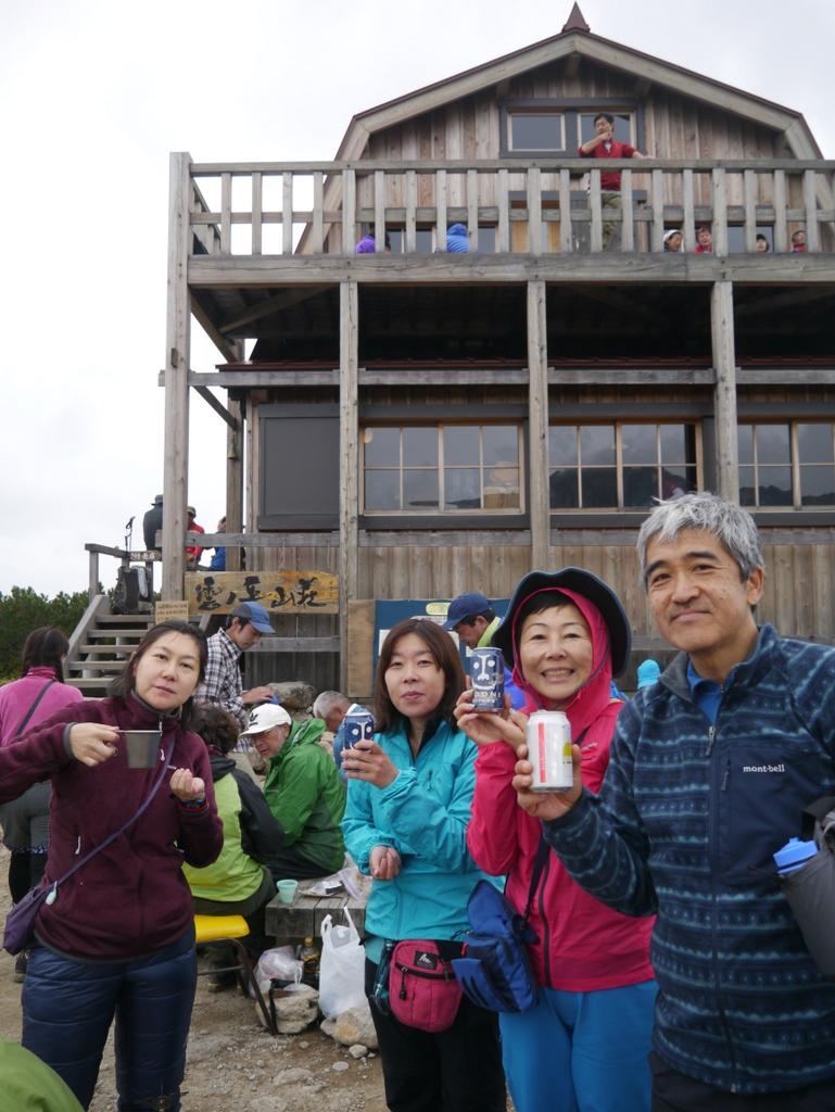 雲ノ平山荘1