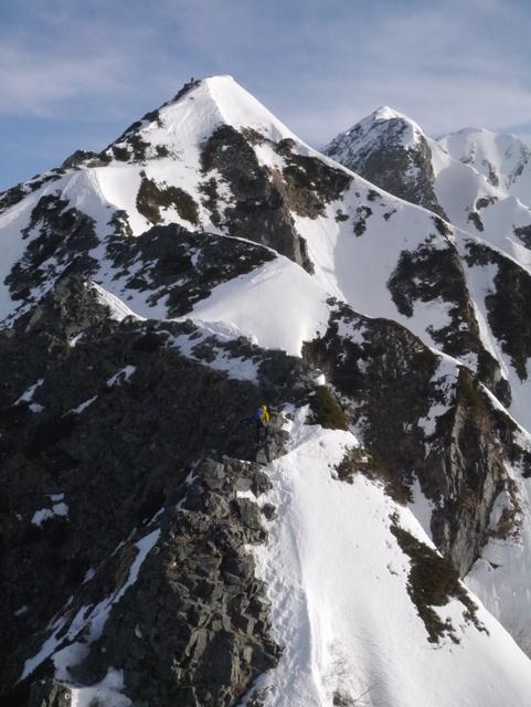 1-2016年4月西穂高岳-035