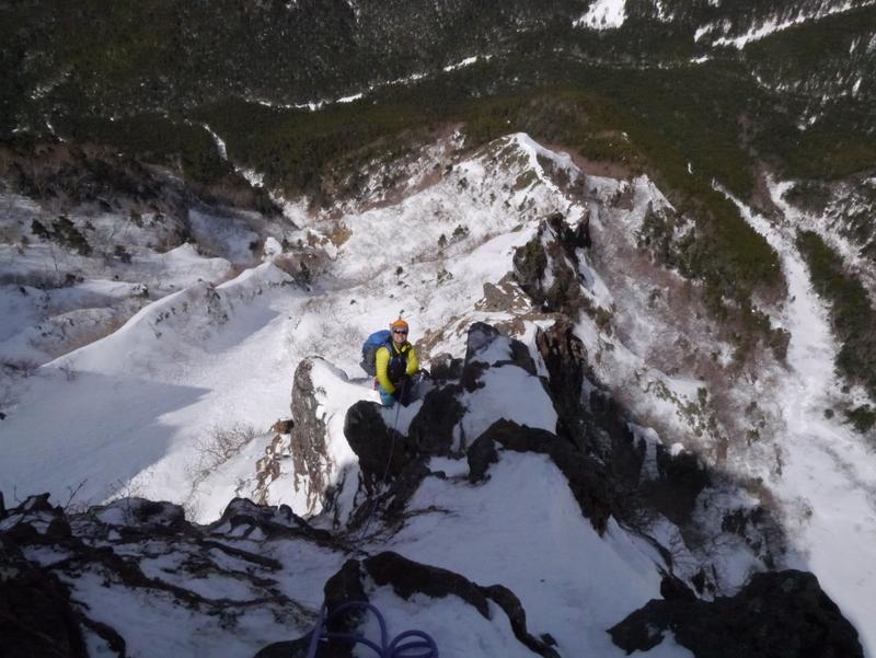 1-2016年3月阿弥陀岳北西陵-063
