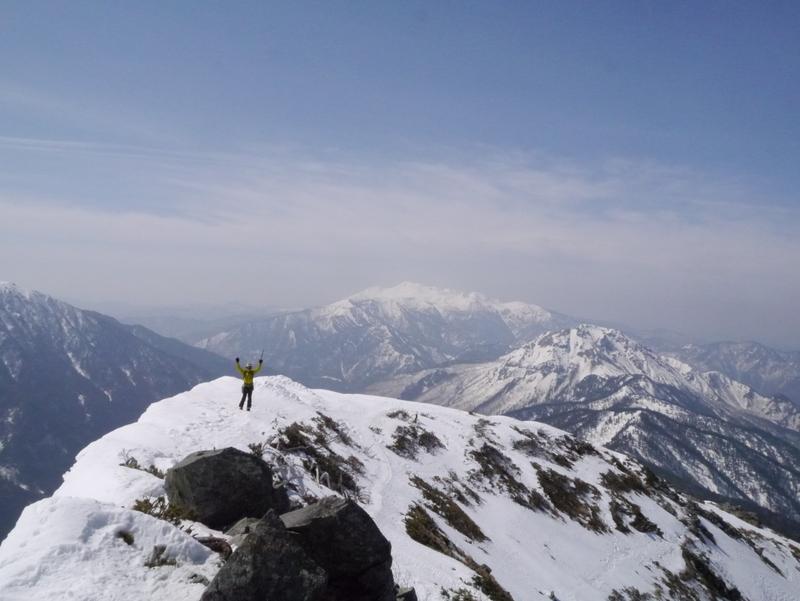 1-2016年4月西穂高岳-078
