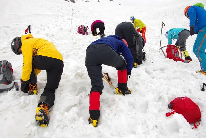 2016年5月 雪上訓練